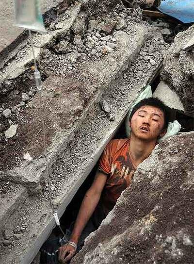Víctima atrapada en China